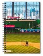 Batting Practice Spiral Notebook