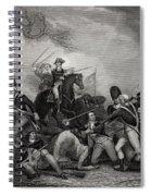 Battle At Princeton New Jersey Usa 1775 Spiral Notebook
