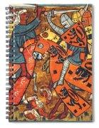 Battle Between Crusaders And Muslims Spiral Notebook