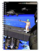 Battle Beyond The Atmosphere  Spiral Notebook