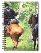 Battle By Horseback Spiral Notebook