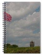 Battle Flag Spiral Notebook