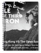 Battle For The Third Flatiron Spiral Notebook