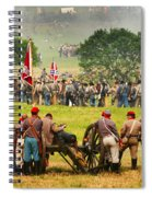 Battle Lines Forming Spiral Notebook