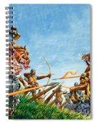 Battle Of Agincourt Spiral Notebook