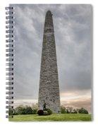 Battle Of Bennington Monument Spiral Notebook