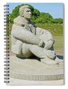 Battle Of Britain Memorial Spiral Notebook