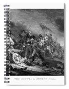 Battle Of Bunker Hill Spiral Notebook