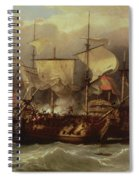 Battle Of Cape St Vincent Spiral Notebook