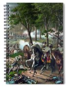 Battle Of Chancellorsville - Death Of Stonewall Spiral Notebook