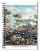 Battle Of Cold Harbor Spiral Notebook
