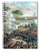Battle Of Cold Harbor Spiral Notebook