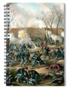 Battle Of Fort Donelson Spiral Notebook