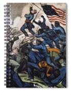 Battle Of Fort Wagner, 1863 Spiral Notebook