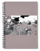 Battle Of Kursk Advancing Soviet Soldiers 1942 Color Added 2016 Spiral Notebook