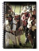 Battle Of San Jacinto Spiral Notebook