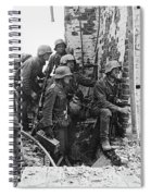 Battle Of Stalingrad  Nazi Infantry Street Fighting 1942 Spiral Notebook