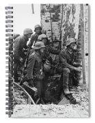 Battle Of Stalingrad  Nazi Infantry Street Fighting 1942 Spiral Notebook