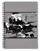 Battle Of Stalingrad Nazi Plane Crossing Volga River 1942 Spiral Notebook
