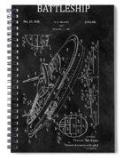 Battleship Patent Spiral Notebook