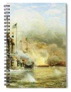 Battleships At War Spiral Notebook