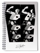 Bauhaus Ballet Six Spiral Notebook