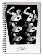 Bauhaus Ballet Six Spiral Notebook