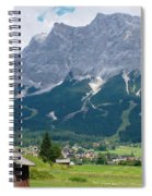 Bavarian Alps Landscape Spiral Notebook