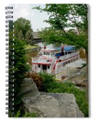 Bavarian Belle Rocks Spiral Notebook