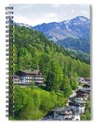 Bavarian Mountainside Spiral Notebook