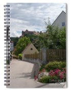 Bavarian Village With Castle  View Spiral Notebook