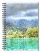 Bay And Greenery Spiral Notebook