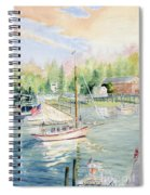 Bay Lady  Spiral Notebook