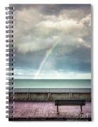 Bay Of Rainbows Spiral Notebook