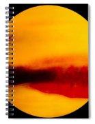 Bay Scene In Pastels Spiral Notebook