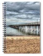 Bay Side Lynnhaven Fishing Pier Spiral Notebook