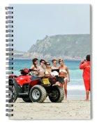 Bay Watch Uk Spiral Notebook