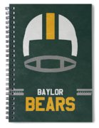 Baylor Bears Vintage Football Art Spiral Notebook