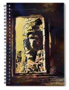 Bayon IIi- Cambodian Ruins, Angkor Wat Spiral Notebook