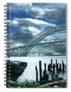 Bayonne Bridge Spiral Notebook