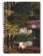 Bayou Shack Spiral Notebook