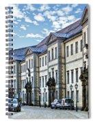 Bayreuth Street Scene Spiral Notebook
