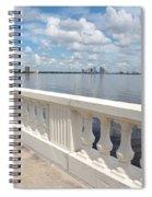 Bayshore Boulevard Balustrade Spiral Notebook