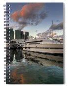 Bayside Sunset Spiral Notebook