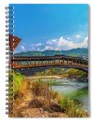 Bazam Bridge Spiral Notebook