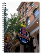 Bb King Bar Nashville Spiral Notebook