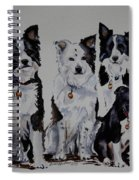 Bc Family Portrait  Spiral Notebook