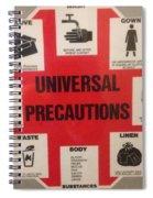 Be Careful Spiral Notebook