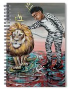 Be Courageous My Son Spiral Notebook