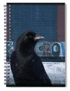 Be Crow Spiral Notebook
